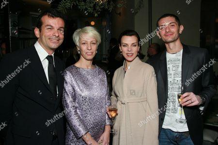 Didier Bonnin, Mimma Viglezio, Debi Mazar and Gabriele Corcos