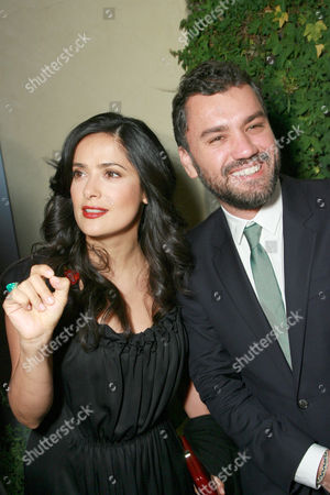 Salma Hayek and Edmundo Castillo