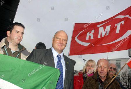 RMT Union general secretary Bob Crow