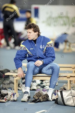 Dan Jansen Dan Jansen of Greenfield, Wis., prepares to pack up his gear after a short workout in morning on at the Olympia Hall in Hamar near Lillehammer, Norway. Jansen is attempting at comeback after suffering a personal turmoil with his sister's death in Calgary in the 1988 Winter Olympics and performing badly in the Winter Olympics in Albertville, France in 1992. Jansen is now armed with confidence this Olympics after successfully breaking the 36-second barrier for the 500-meter with a 35.92 clocking in December