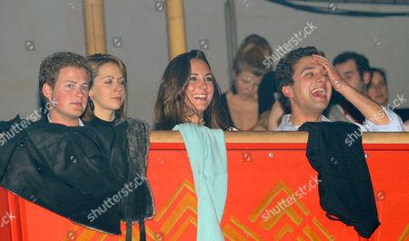 Guy Pelly, Catherine Duchess of Cambridge and Thomas Van Straubenzee