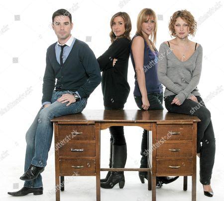 'The Hot Desk'  TV - 2007 - Dave Berry [Melanie] Mel Blatt,Nicole Appleton, Emma Griffith,