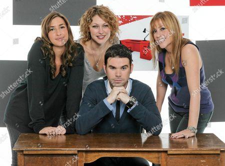'The Hot Desk'  TV - 2007 - [Melanie] Mel Blatt, Emma Griffith, Dave Berry,Nicole Appleton,