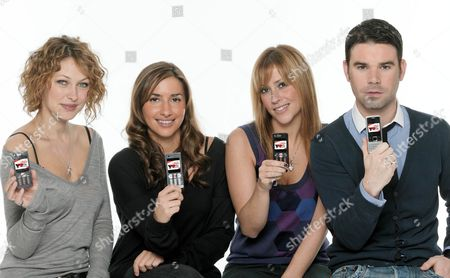 'The Hot Desk'  TV - 2007 -  Emma Griffith, [Melanie] Mel Blatt, Nicole Appleton and Dave Berry