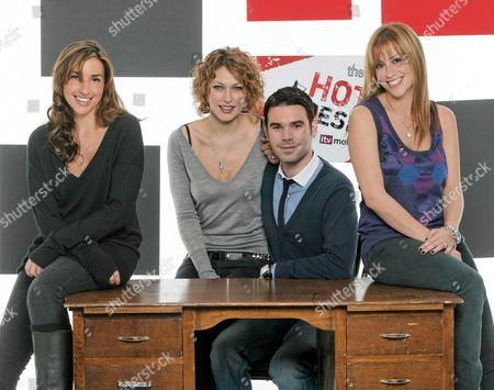 'The Hot Desk'  TV - 2007 - [Melanie] Mel Blatt, Emma Griffith, Dave Berry and Nicole Appleton