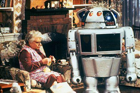 'Metal Mickey'  TV - 1981 - Metal Mickey and Irene Handl as Granny