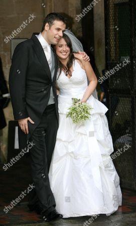 Richard Bacon and Rebecca Mcfarlane