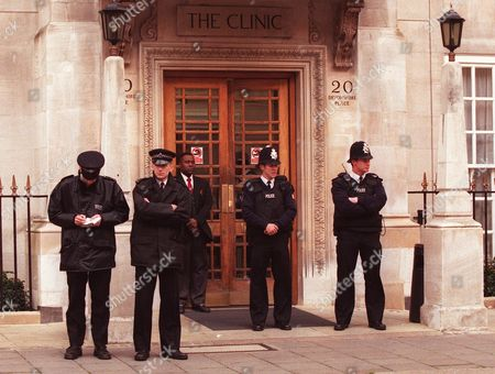 British Police Officers Clinic Security Stand Guard Editorial Stock Photo Stock Image Shutterstock