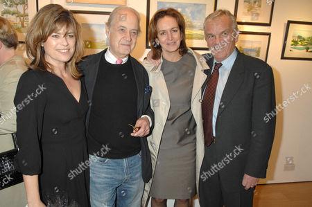 Sarah Forbes, John Standing, Caroline Michelle and Husband