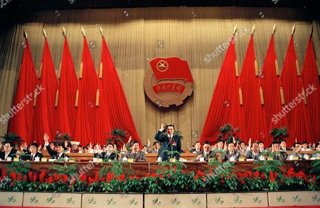 Li Kequiang Li Kequiang, center, raises his hand during voting for new leaders of the Communist Youth League at the closing ceremony of the week-long congress in Beijing, . Li was voted the new Secretary of the League, which organizes youth in China in preparation for a possible Communist party membership in the future