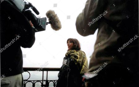 Stock Image of 'The South Bank Show' TV Series - 2005 Sophie Calle, Parisian Artist.