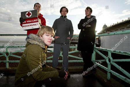 British Sea Power - Martin Noble, Matthew Wood, Yan Scott and Neil Wilkinson