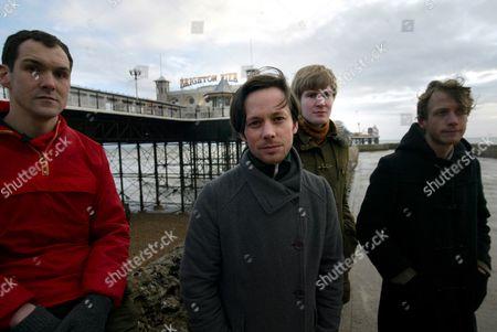 British Sea Power - Martin Noble, Yan Scott, Matthew Wood and Neil Wilkinson