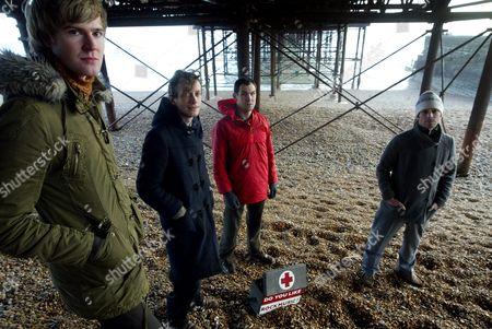 British Sea Power - Matthew Wood, Neil Wilkinson, Martin Noble and Yan Scott