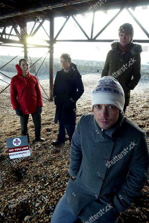 British Sea Power - Martin Noble, Neil Wilkinson, Matthew Wood and Yan Scott