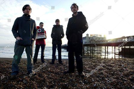 British Sea Power - Yan Scott, Martin Noble, Matthew Wood and Neil Wilkinson