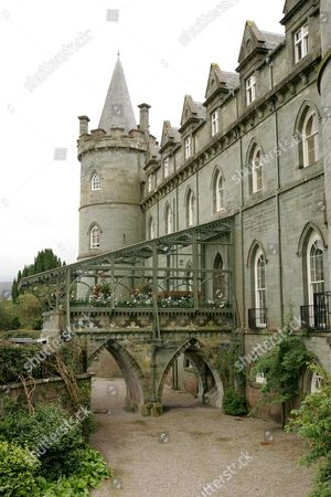 Inveraray Castle, the home of the Duke of Argyll, Scotland, Britain