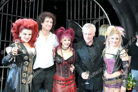 Editorial image of Opening night of 'We Will Rock You' musical in Vienna, Austria - 24 Jan 2008