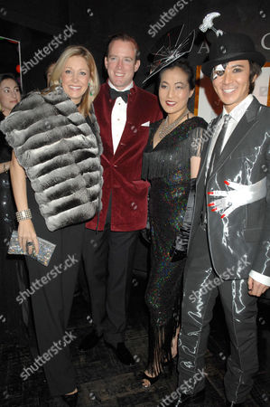 Nadja Swarovski, Husband and Andy and Patti Wong