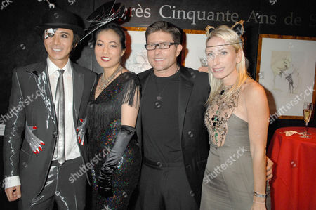 Andy and Patti Wong with Kenny Goss and Guest
