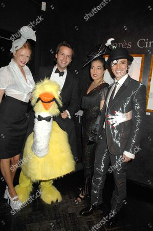 Olivia Inge, Guest and Andy and Patti Wong
