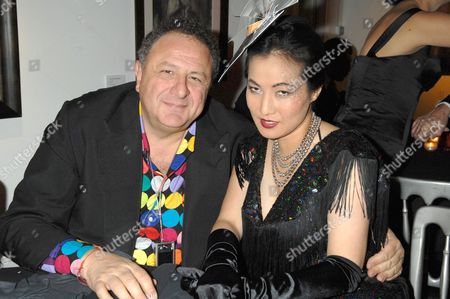 Jean Pigozzi and Patti Wong