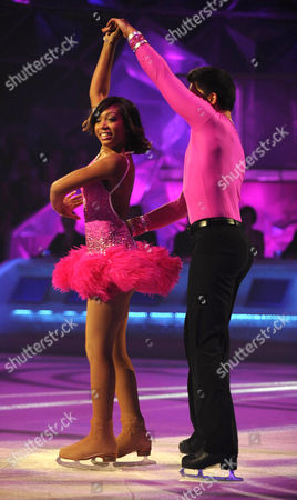 Editorial photo of 'Dancing On Ice' TV programme series 3, London, Britain         27 Jan 2008