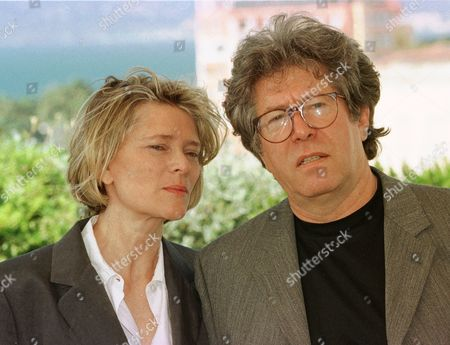 """MILLER French director Claude Miller, right, poses for the press with his wife Annie Miller, producer, during the photo call of the French movie """"Class Trip"""", in the Cannes Film Festival . Class trip will be screened tonight to the jury of the Festival"""