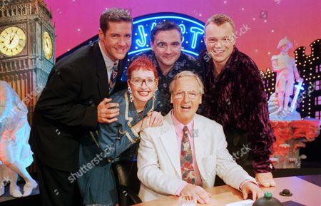 'Just a Minute' - Dale Winton, Tony Slattery and Graham Norton, Su Pollard and Nicholas Parsons.