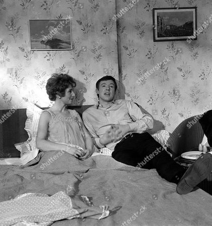 'Coronation Street'  TV  - Rita Littlewood [Barbara Mullaney] later known as Barbara Knox and Dennis Tanner [Philip Lowrie].