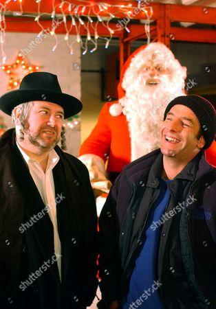 'Christmas Lights' -  Mr Margolis [David Fleeshman] and Colin [Robson Green].