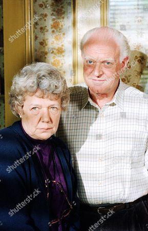 Anna Cropper and Frank Windsor