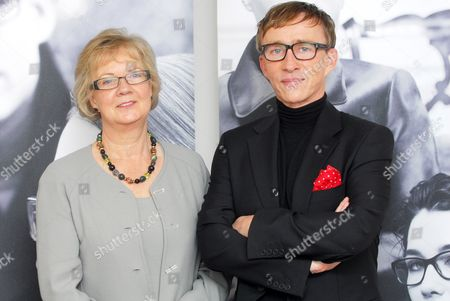 Dame Mary Perkins founder of Specsavers and Jasper Conran
