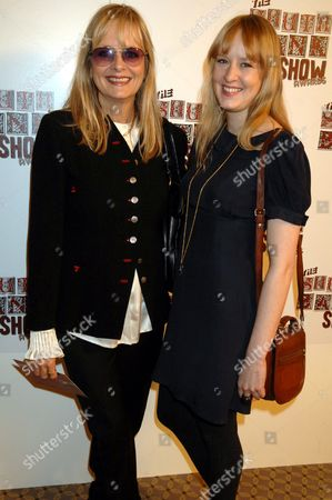 Twiggy and daughter Carly Witney