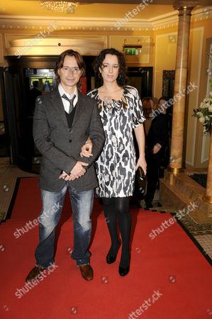 Robert Carlyle and wife Anastasia Shirley