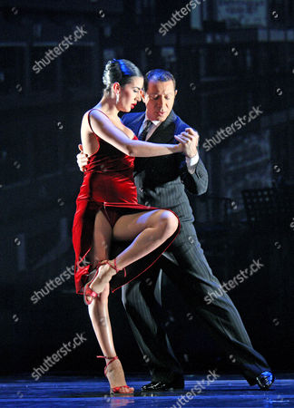 Stock Picture of Buenos Aires Tango - Daiana Guspero and Miguel Angel Zotto
