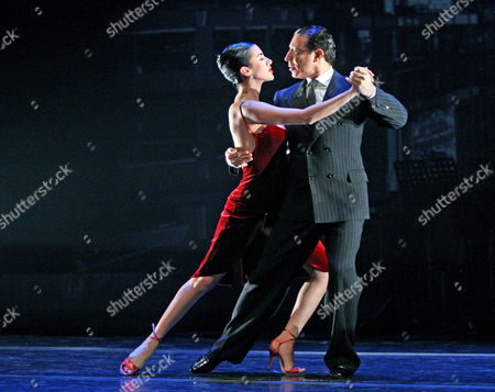 Stock Image of Buenos Aires Tango - Daiana Guspero and Miguel Angel Zotto