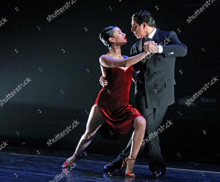 Editorial image of 'Tango Por Dos' at the Peacock Theatre, London, Britain - 28 Jan 2008