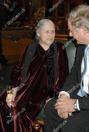 Doris Lessing and Nicholas Lloyd