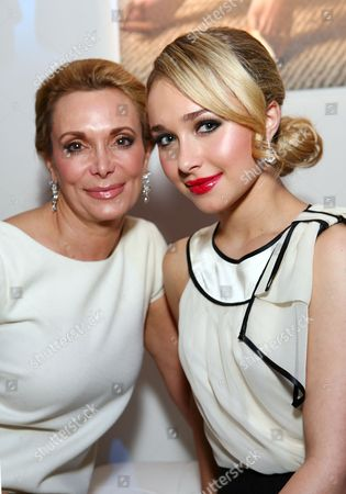 Hayden Panettiere with mother Lesley Panettiere
