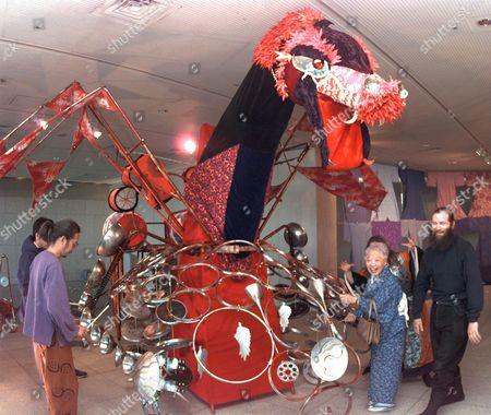 Editorial picture of JAPAN DRAGON ART, TOKYO, Japan