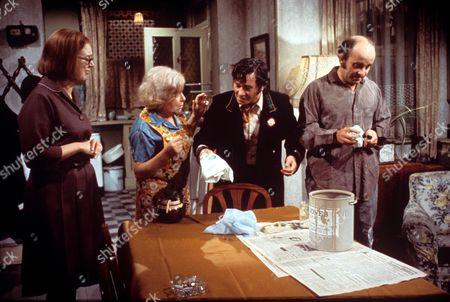 'On The Buses'  TV - 1971 - Anna Karen, Doris Hare, Reg Varney, Michael Robbins.