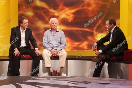 'Don't Call Me Stupid'  TV - 2007 - Phil Tufnell, Brian Sewell and Presenter Alexander Armstrong.