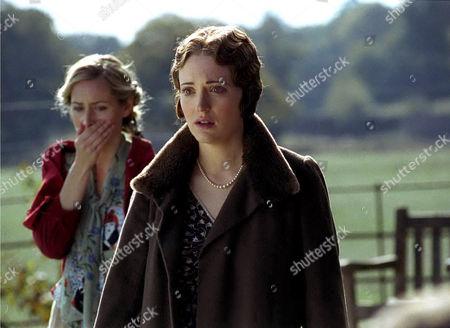 'Poirot' The Hollow  TV - 2004 -  Claire Price (Gerda Christow) and Megan Dodds (Henrietta Savernake)
