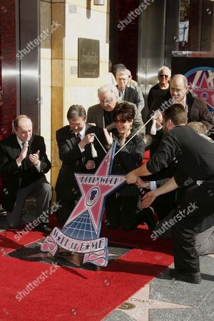 Editorial picture of Suzanne Pleshette honoured with posthumous star on the hollywood Walk of Fame.  Los Angeles, America  - 31 Jan 2008