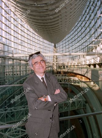 RAFAEL VINOLY Uruguay-born American architect Rafael Vinoly stands in an all-glass atrium at Tokyo International Forum building which he designed, one day before its official opening as a convention center in the heart of Tokyo