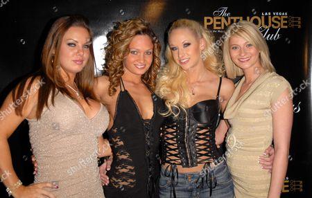 Editorial photo of Stars at the Penthouse Club, Las Vegas, America - 01 Feb 2008