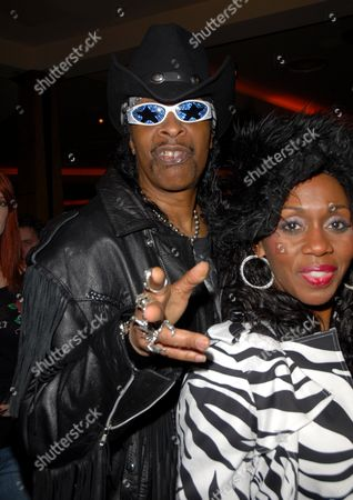 Stock Picture of Bootsy Collins and Patti Collins
