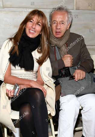 Nina Garcia and Gilles Bensimon
