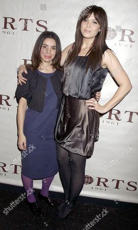 Designer Tia Cibani and Mandy Moore
